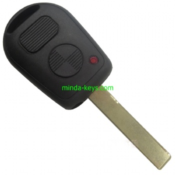 BM-202 BMW Remote Shell 2 Button HU92R Blade