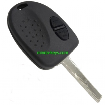 CHE-207 Chevrolet Holden Remote Shell 2 Button HU43 Blade