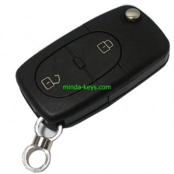 VW-251 VW Flip Remote Shell for Golf-Polo HU66 2 Button