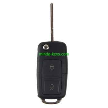 VW-201 VW Flip Remote Shell Old Type for Golf-Polo HU66 2 Button
