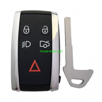 VO-234 VOLVO Smart Remote Shell 5 Button with Emergency Key