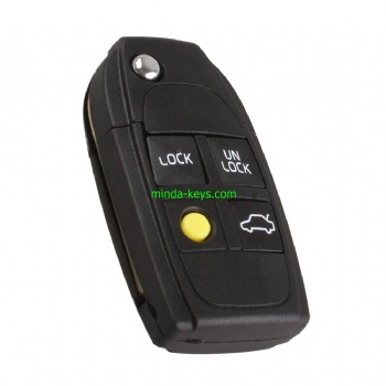 VO-233 Volvo Flip Remote Shell 4 Button with Flip Part
