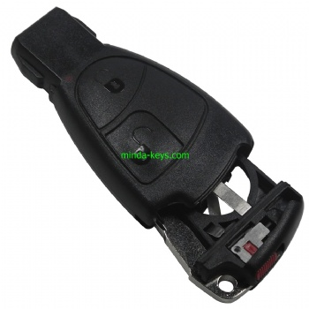 MB-244 Mercedes Benz Smart Remote Shell 2 Button with emergence key