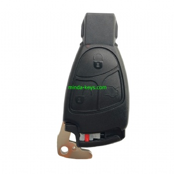 MB-245 Mercedes Benz Smart Remote Shell 3 Button with emergence key