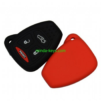 CHRSC-3 Silicone Car Key Case Cover For Chrysler Remote Shell