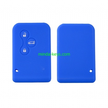 RNSC-1 Silicone Car Key Case Cover For Renault Remote Shell