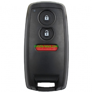 SU-211 Suzuki Smart Remote Shell 3 Button HU133R emergency key